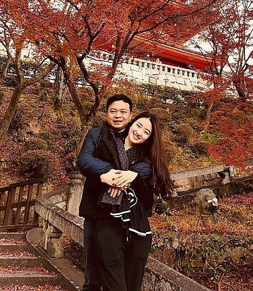 Thu Ngân và chồng có chung sở thích về ẩm thực, du lịch và đam mê kinh doanh.