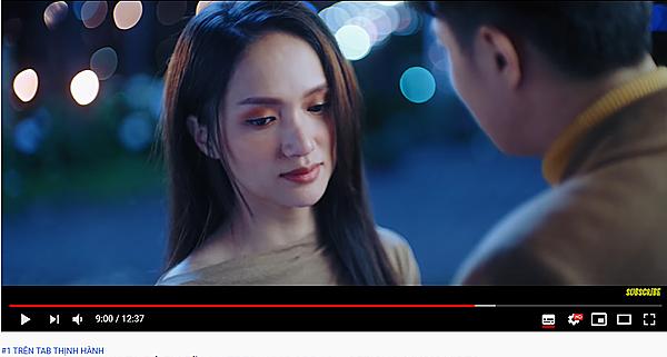 MV mới của Hương Giang đạt triệu view nhanh chóng.