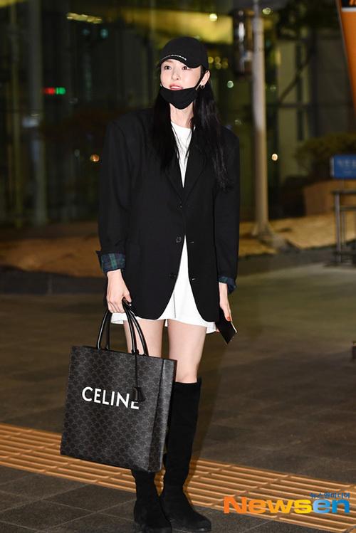Nữ diễn viên Lee Dae Hee.