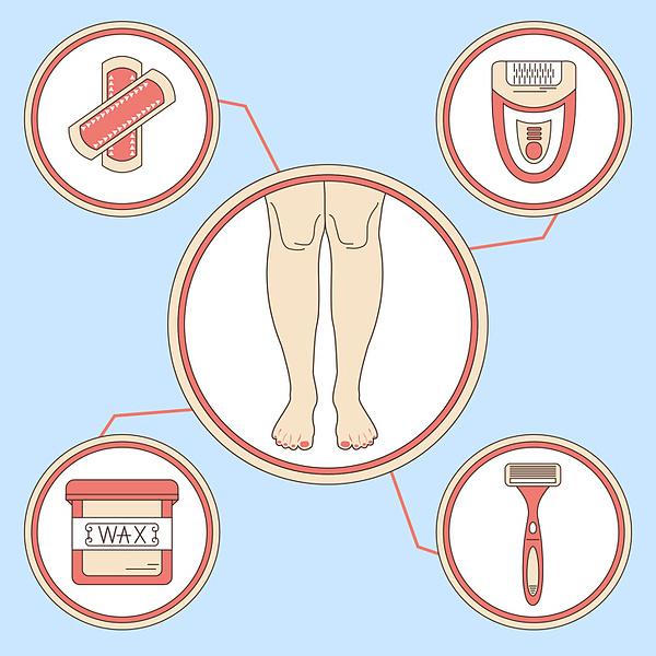 6 điều chứng tỏ bạn tẩy lông chân sai cách