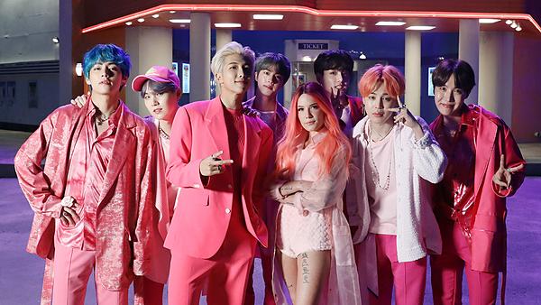 BTS có một năm 2019 thành công với hit Boy with Luv.