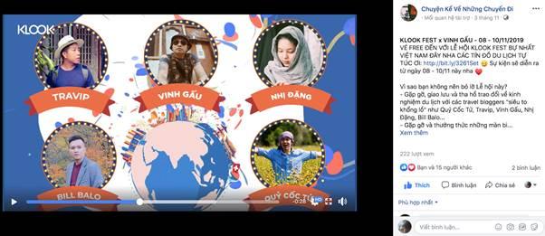 Lễ hội du lịch Klook cuối tuần này sẽ diễn ra nhiều chương trình nghệ thuật, giải trí và giao lưu mang dấu ấn văn hóa quốc tế. Các bạn không chỉ một bước check-in 5 điểm đến hấp dẫn như Thụy Sĩ, Nhật Bản, Hàn Quốc, Hồng Kông & Singapore, mà còn sở hữu lượng thông tin khủng về các điểm tham quan, các hoạt động thú vị cần đưa vào check list và các điều cần lưu ý bổ ích khác khi vi vu nước ngoài. Sự kiện còn đem tới nhiều  ưu đãi giúp bạn tiết kiệm cho chuyến đi. Klook Fest là cơ hội vàng để săn deal hấp dẫn như vé tham quan, tour trong ngày, phương tiện vận chuyển, mua sim điện thoại và hơn 100,000+ dịch vụ & tiện ích du lịch với mức giá cạnh tranh mà bạn không thể tìm thấy online. Ví dụ như: mua 1 tặng 1, mua 2 tặng 1, mua dịch vụ tặng SIM 3G/4G nước ngoài miễn phí, giảm 30% dịch vụ visa Nhật Bản & Hàn Quốc trên Klook cùng hàng trăm ưu đãi vé máy bay & khách sạn từ các đối tác của Klook.  Tham gia các trò chơi tại các quầy du lịch còn có cơ hội ring về chiếc iPhone 11 và chuyến du lịch đến Thụy Sĩ cùng hàng nghìn phần quà độc quyền từ Klook như túi tote, thẻ hành lý, bình nước du lịch...Dự lễ hội du lịch Klook cuối tuần này ngoài nhiều cơ hội nhận quà và gặp gỡ các travel blogger đình đám, các bạn còn hòa mình vào không khí lễ hội với các nghệ sĩ hàng đầu showbiz như Chi Pu, Jack và K-ICM, Ali Hoàng Dương....