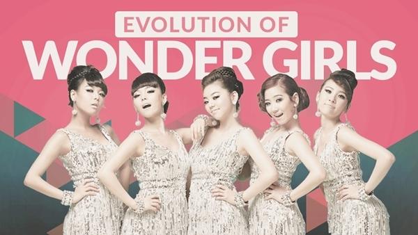 Wonder Girls là girlgroup đầu tiên cố gắng tấn công thị trường Mỹ, có mặt trên BXH Billboard Hot 100 với hit Nobody năm 2008.