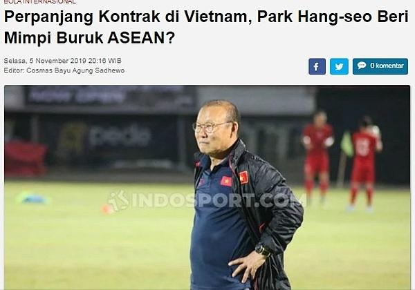 Báo Indonesia lo lắng cho số phận các đội bóng tại Đông Nam Á.
