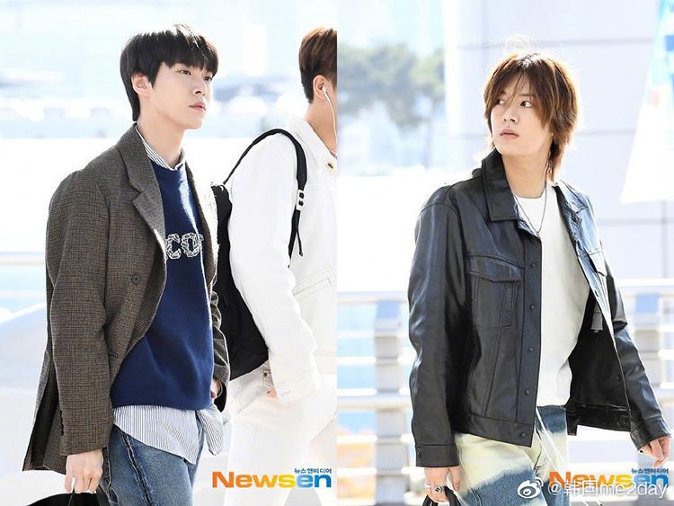 2 visual nhà JYP Yuna - Tzuyu đọ nhan sắc đỉnh cao ở sân bay - page 2 - 3