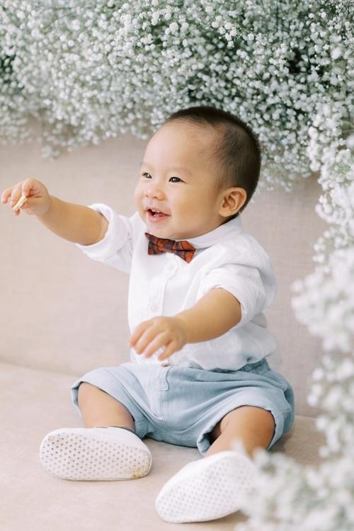Con trai Cà Rốt là trái ngọt, nay đã được hơn một tuổi.