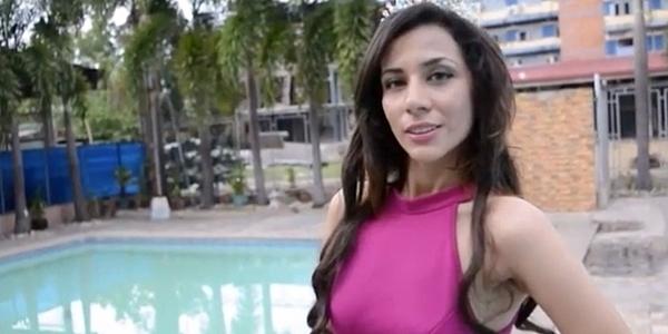 Bahari là đại diện Iran tham dự Hoa hậu Liên lục địa.