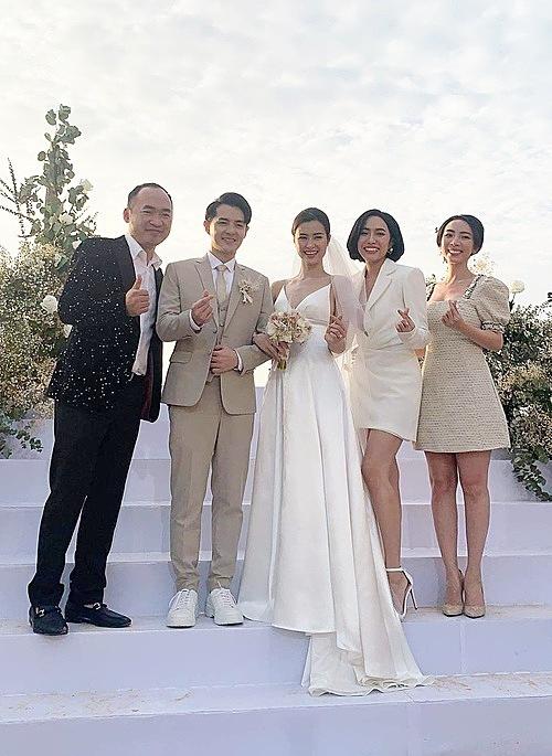 Stylist Kelbin Lee, Khổng Tú Quỳnh (trên) và Minh Xù, Việt Hương,