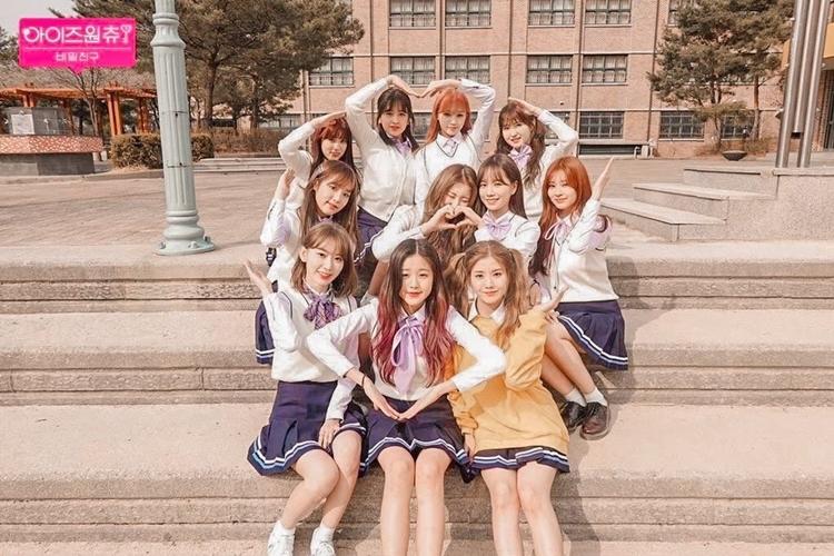 IZONE là nhóm nhạc bước ra từ Produce 48 năm 2018.