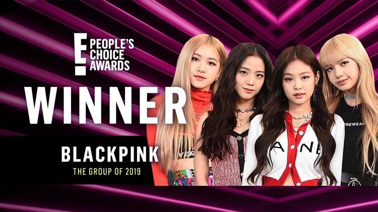 Black Pink gây bất ngờ khi vượt qua BTS tại PCA 2019.