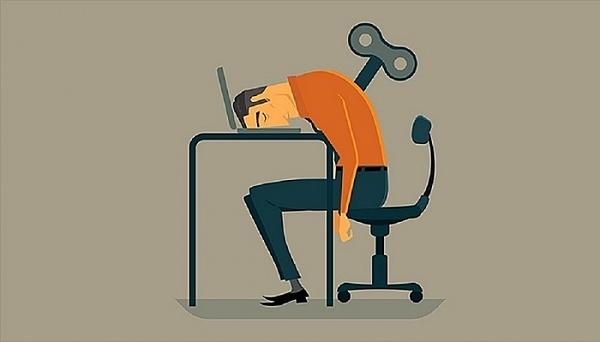 Bạn có bị kiệt sức trong công việc? - 1