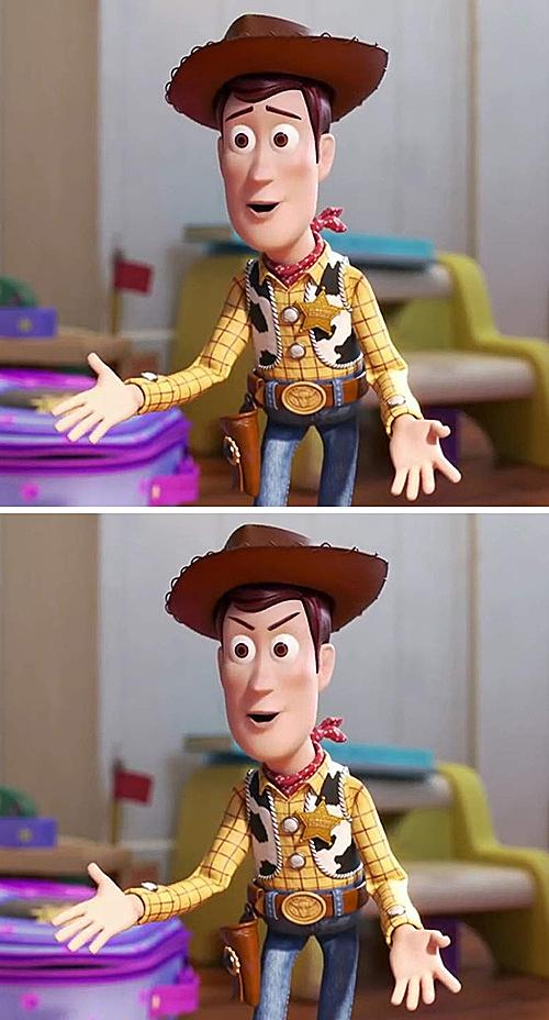 Fan Disney thử tìm điểm khác biệt - 1