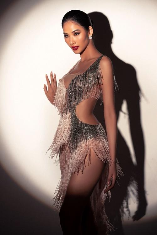 Làm thủ tục ghi danh tại Miss Universe 2019, Hoàng Thùy cho biết cô được ban giám khảo khen có chiều cao, khả năng ngoại ngữ tốt. Cômuốn truyền năng lượng tích cực, đặc biệt với phụ nữ ở cuộc thi. Cô hy vọng mang được chiếc vương miện Hoa hậu Hoàn vũ đầu tiên về cho Việt Nam.