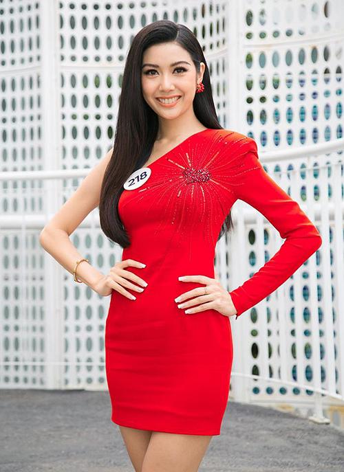 Thúy Vân đang là ứng viên nặng ký cho vương miện Hoa hậu Hoàn vũ Việt Nam 2019.