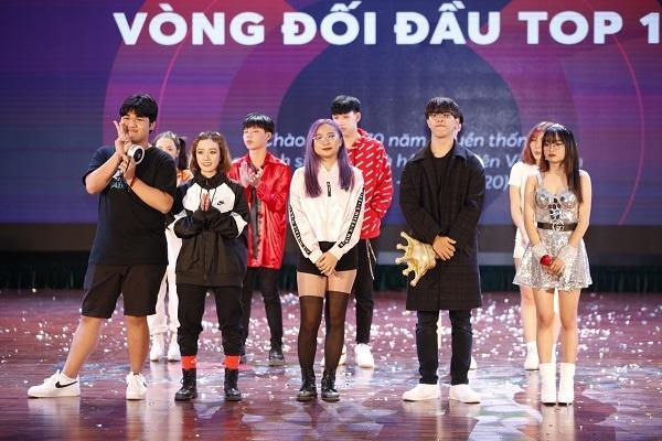 Glory (THPT Việt Đức), The Heat (ĐH Thăng Long), BAAT (Học viên Ngân hàng), Kings Crew (ĐH Sư phạm Hà Nội) và DR Crew (ĐH Y Hà Nội) là 5 đội giành được tấm vé vào vòng chung kết.