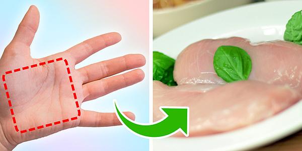 Đo lượng thức ăn cần tiêu thụ trên một bàn tay - 2
