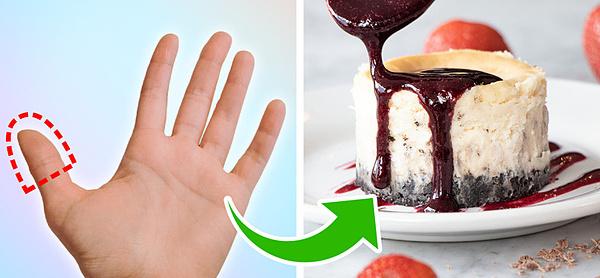 Đo lượng thức ăn cần tiêu thụ trên một bàn tay - 6