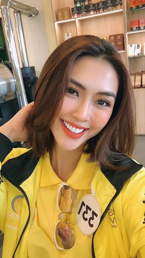 Tường Linh nói nếu trượt top, cô chắc chắn sẽ rất buồn. Mục tiêu của cô khiđến với Miss Universe Vietnam là để trở thành người chiến thắng, đại diện Việt Nam dự thi sắc đẹp quốc tế. Cômuốn đóng góp một phần nào đó, khơi dậy trái tim dũng cảm của mọi người xung quanh.