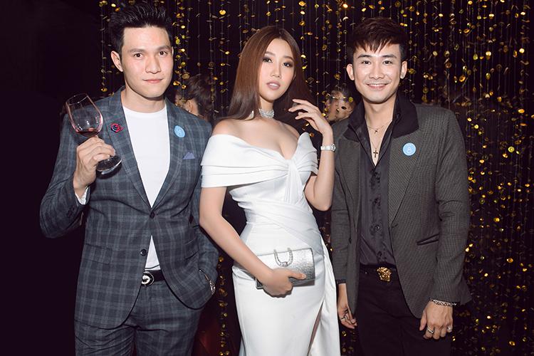 Tại sự kiện, nữ diễn viên hội ngộ dàn sao: Chí Thiện, Trúc Nhân, Quang Đại...