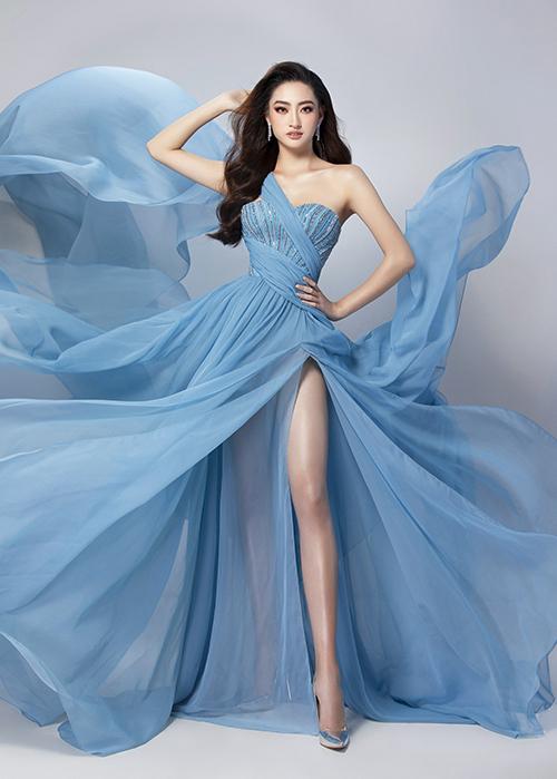 Bộ trang phục Lương Thùy Linh chọn mặc dự thi Top Model.