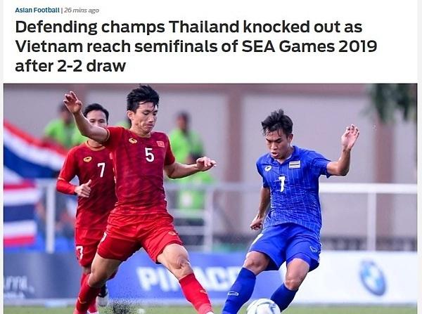 Báo châu Á: Việt Nam loại ĐKVĐ Thái Lan khỏi vòng bảng