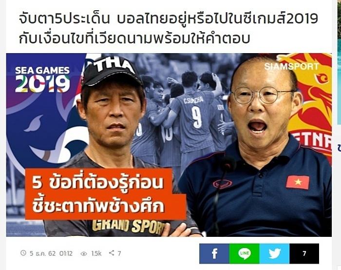 Báo Thái Lan: Ông Park ăn thịt tất cả các nước láng giềng