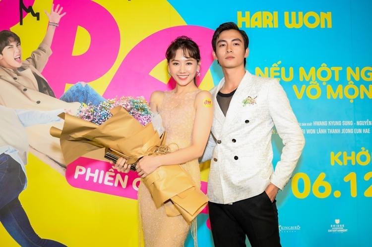 Anh vào vai Huy, sếp của Ca Dao (Hari Won) và ôm mối tình đơn phương với cô nàng.