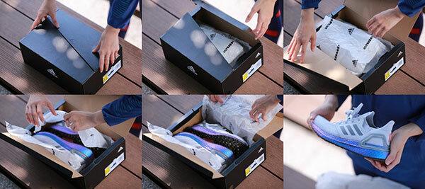 Châu Tuyết Vân - cô gái vàng của Taekwondo Việt Nam, đập hộp đôi giày Ultraboost mới nhất. Sản phẩm không chỉ cải tiến thêm các tính năng giúp nâng cao thành tích của người sử dụng mà còn thu hút với phối màu thời trang. Điểm nhấn đặc sắc của mẫu giày là sắc tím - xanh lấp lánh, tượng trưng cho vũ trụ ở phần đế Boost với logo ba sọc đặc trưng của adidas.