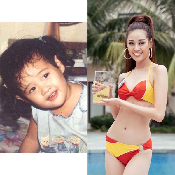 Nguyễn Huỳnh Kim Duyên được khen có những đường nét xinh xắn hơn người từ lúc mới lên ba.