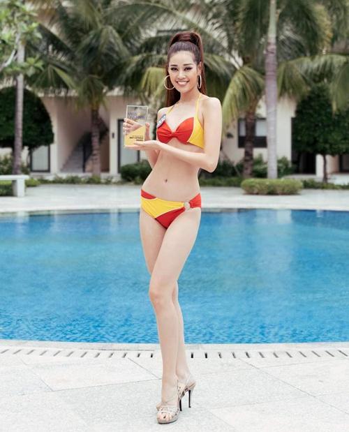 Với kỹ năng catwalk tốt, Khánh Vân chiến thắng giải thưởng phụ Best catwalk ở cuộc thi năm nay.