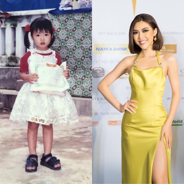 Tường Linh ra dáng hot girl từ bé.