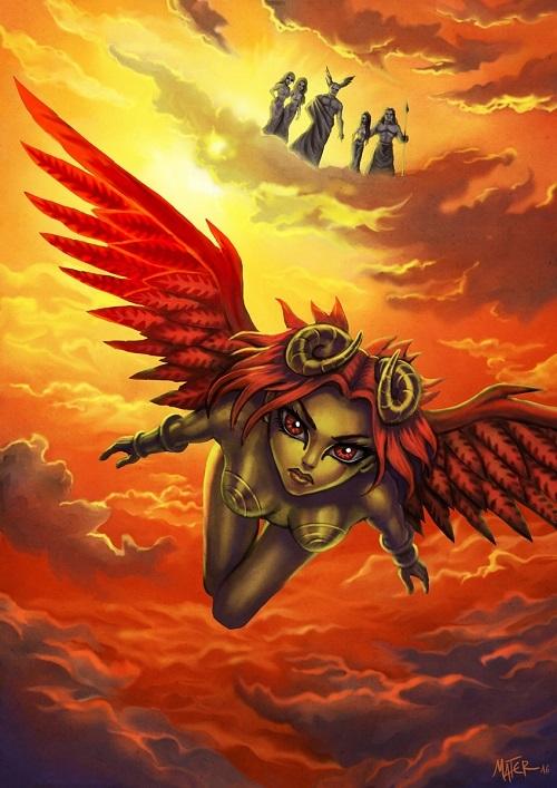 12 cung hoàng đạo với tạo hình dị nhân trong thần thoại