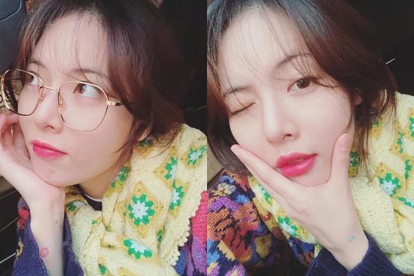 Hyuna được khen xinh hơn khi mặt có da có thịt.