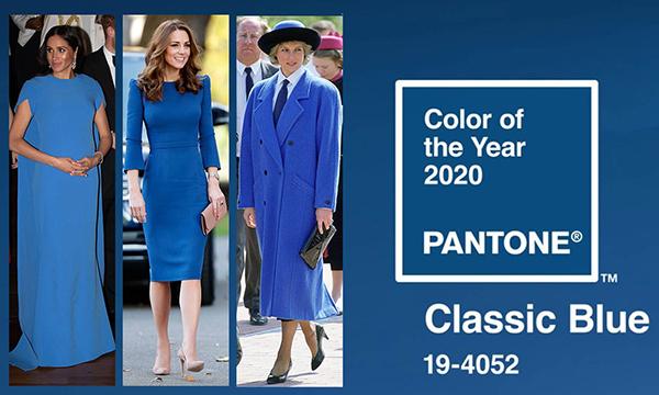 Như thường niên, Viện màu sắc Pantone vừa công bố màu sắc chủ đạo sẽ lên ngôi năm 2020 đó là Classic Blue (xanh cổ điển). Đây là gam màu gắn liền với phong cách hoàng gia sang trọng, cổ điển nhưng không bao giờ lỗi mốt.