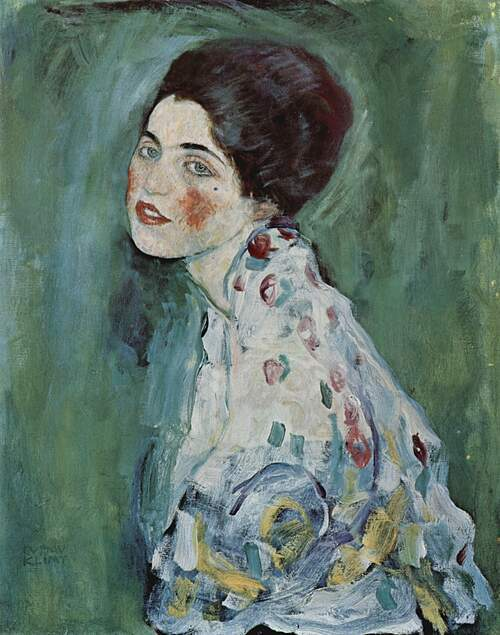 Portrait of a Lady (Klimt). Ảnh: Wikipedia.