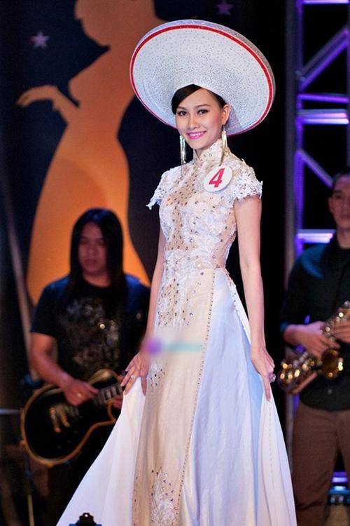 Kim Duyên - Á hậu 1 Hoa hậu Việt Nam Toàn Cầu 2013.