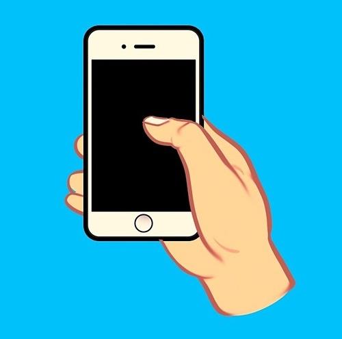 Cách cầm điện thoại nói lên tính cách của bạn - 1
