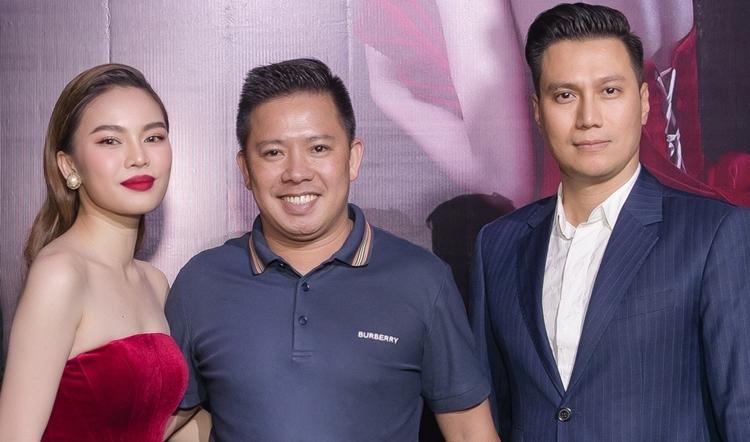 Vợ chồng Giang Hồng Ngọc và diễn viên Việt Anh.