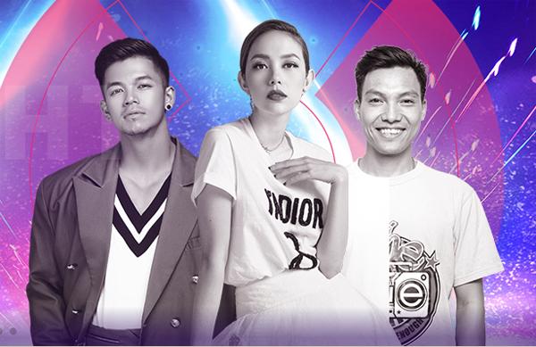 Bộ ba giám khảo đặc biệt đêm chung kết Kpop Dance For Youth.