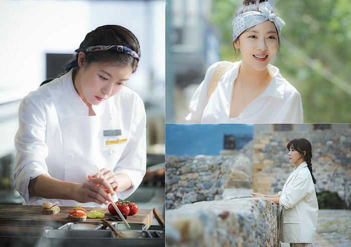 Hình ảnh bắt mắt từ những món đồ ăn được Moon Cha Young chau chuốt tỉ mỉ.