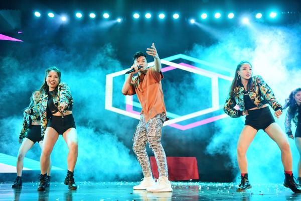 Minh Hằng, Trọng Hiếu đốt cháy đêm chung kết Kpop Dance - 1