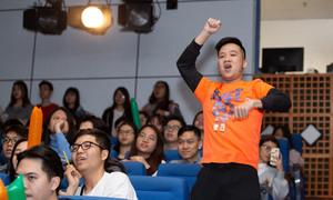 Khán giả reo hò, nhảy theo đội thi 'Kpop Dance For Youth'