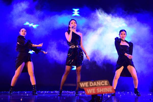 Minh Hằng, Trọng Hiếu đốt cháy đêm chung kết Kpop Dance - 5