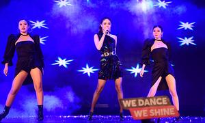 Minh Hằng, Trọng Hiếu 'đốt cháy' đêm chung kết Kpop Dance For Youth 2019