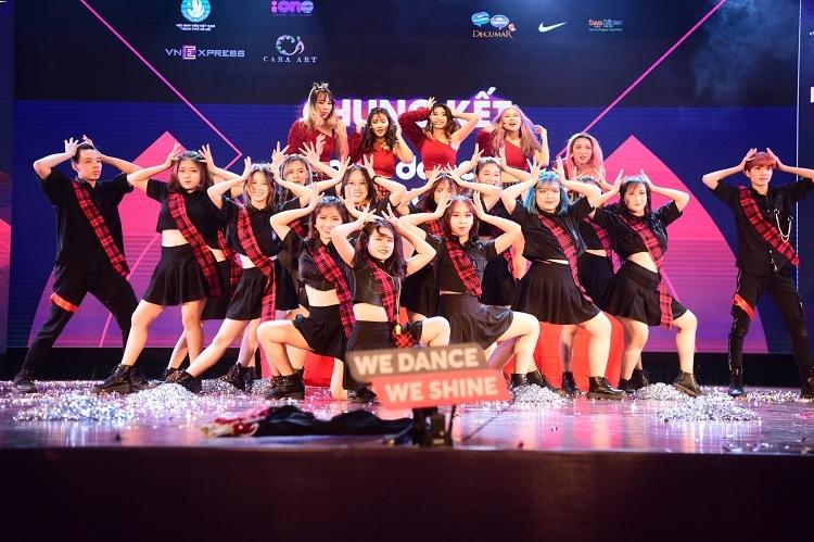 BAAT tự tin tỏa sáng trong đêm Chung kết Kpop Dance For Youth.