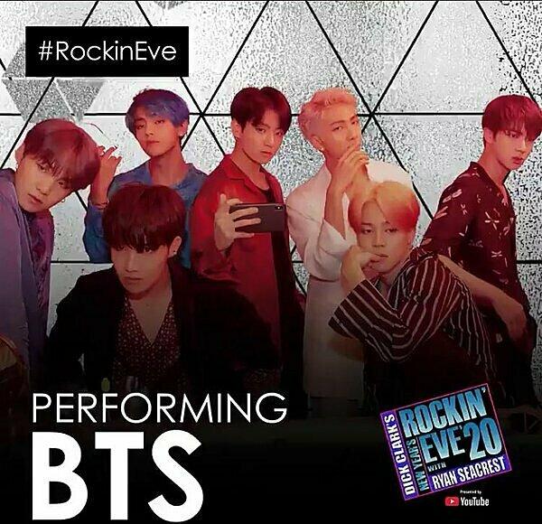 Đài ABC của Mỹ thông báo BTS sẽ là nghệ sĩ trình diễn tại đêm nhạc đón giao thừa năm nay.