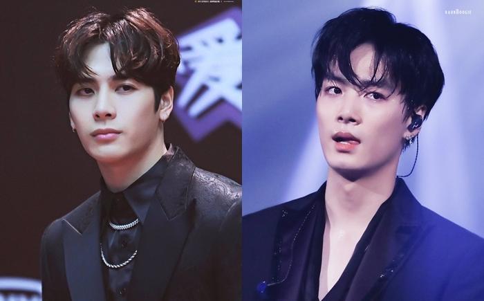 Jackson (GOT7) và JR (NUEST).