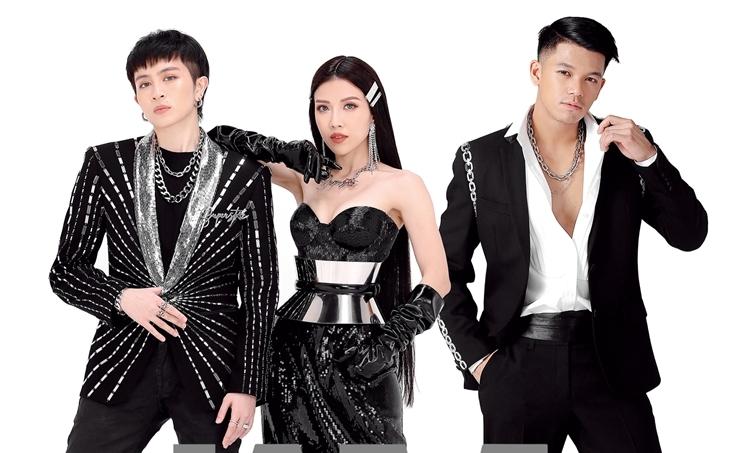 Trang Pháp, Gil Lê, Trọng Hiếu trong dự án I am Superstar