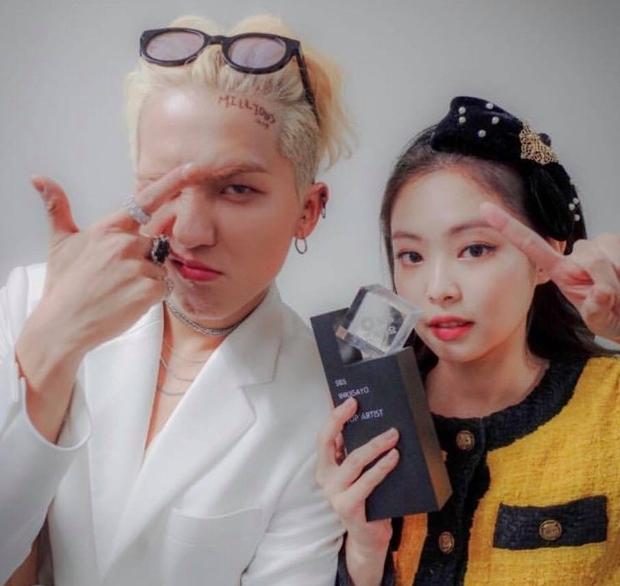 Mino và Jennie là bộ đôi nam nữ hiếm hoi của YG thế hệ 3 có nhiều tương tác với nhau.