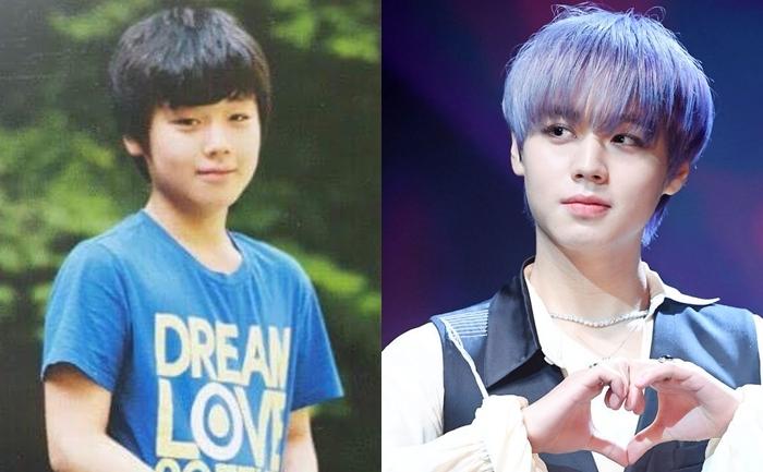 3. Park Ji Hoon: Bắt đầu thập kỷ, Park Ji Hoon là cậu nhóc 10 tuổi đáng yêu ngố tàu.Kết thúc thập kỷ, nam idol đã biến hình thành một mỹ nam có ngoại hình long lanh.